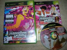 DANCING STAGE UNLEASHED  - Rare XBOX Game