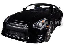 2009 NISSAN GT-R R35 BLACK 1/24 DIECAST CAR MODEL BY JADA 96811