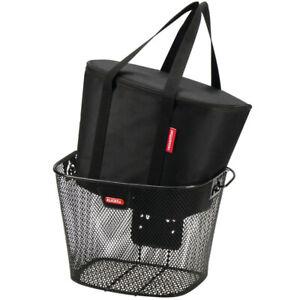 KLICKFIX Thermo-Tasche für Lenkerkorb schwarz,34x26x25 cm schwarz Fahrrad