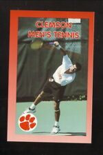 Clemson Tigers--1999 Tennis Pocket Schedule--BiLo