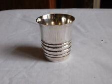 Orfèvrerie Pot ancienne  timbale métal argenté