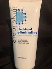 Avon- blackhead eliminating deep treatment mask acne treatment 2.5 fl. oz