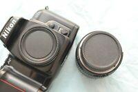 Lot of 3 sets of Body + Rear Lens Cap for Nikon Film & DSLR cameras and Lenses