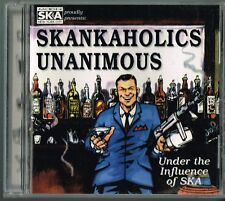 Skankaholics Unanimous Under The Influence Of Ska CD 1997 Compilation MoonSkaNYC