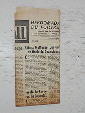 FRANCE FOOTBALL OFFICIEL HEBDOMADAIRE FFF N°426 18/05 1954