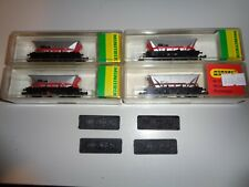 More details for minitrix mgr haa hoppers x 4 mib with add on coal loads        1539h 5314