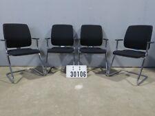 4 Stück Sedus eb-230 early-bird Freischwinger Besucherstuhl Konferenzstuhl#30106