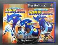 "PS 2 Playstation 2 Spiel "" SONIC GEMS COLLECTION "" KOMPLETT"