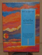 Cielos, Escrituras y peintures Jean Feugereux, el color, luz