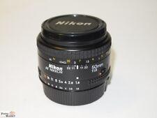 Nikon AF Nikkor 50mm 1:1,8 Estándar Lente FX formato O D7200 D500 D810