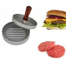 Non Stick Burger Press Hamburger Maker Beef Patty Meat BBQ Grill 12cm