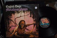 ENGLISH DOGS Metalmorphosis LP RECORD RARE METAL ORIGINAL UK FLAG RECORDS
