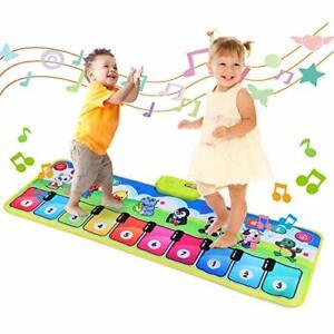 Fascol Piano Matte Musikmatte für Kinder ab 1-5 Jahre Klaviermatte Tanzmatte ...