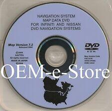 2006 2007 2008 Infiniti FX Model FX35 FX45 Navigation OEM DVD Map U.S Canada CD
