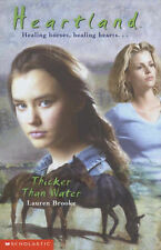 Heartland #8: Thicker Than Water by Lauren Brooke (Paperback, 2002)