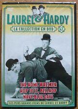 DVD LAUREL & HARDY - VOLUME 47 - THE HOME WRECKER / NAVY BLUE DAYS / + 1 - NEUF