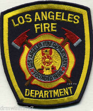 """Los Angeles - 1886  new style  Fire Dept., CA   (3.75 x 4.25"""" size)  fire patch"""