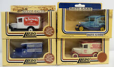 VEHICLES : SET OF 4 1934 CHEVROLET DELIVERY VANS MADE BY LLEDO (DT) 159