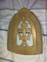 "Vintage Colebrookdale Iron Co Trivet Pottstown PA 6"" X 4.25"""
