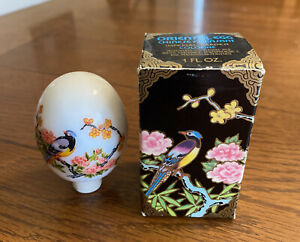 "Vintage Avon ""ORIENTAL EGG - Chinese Pheasant"" Imperial Garden Cologne 1 oz."