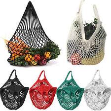 Reusable Baumwollschnur Netz Einkaufsnetz Einkaufstasche Basketball Tasche Best