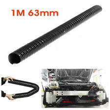 1M 63mm Air Ducting Pipe Flexible Hose Hot & Cold Car Cooling Transfer Extractor