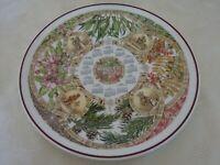 Wedgwood Collectors Calendar Plate 2002 Seasons Trees