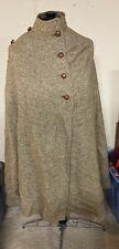 Foxford Fabric Vintage Womens Cape Republic Of Ireland Wool Belt