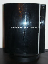 Sony PlayStation 3 80gb piano black consola de juegos con juegos y ZUB.