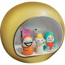 Alessi Presepe Nativity Set - Gold
