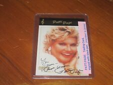 Patti Page Autographed Trading Card JSA Auc Certified
