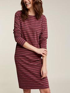 EX Fat Face Rose Ash Organic Cotton Aurelia Dress Sizes 10, 12, 14, 16 RRP £45