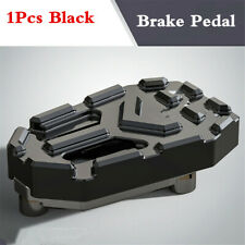 1Pcs Black Aluminium Motorcycle Rear Brake Foot Pedal Universal
