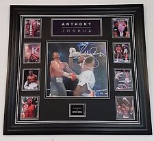 *** NEW ANTHONY JOSHUA SIGNED BOXING Photo Picture Autograph Display ***