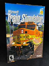 Microsoft Train Simulator 1.0 (PC, 2001, B87-00050)