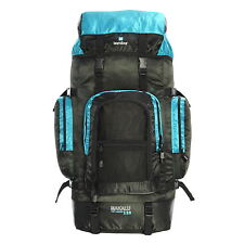 Karabar Makalu Large 120 Litres Travel Backpack - 3 Years Black/sky