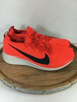 Nike Zoom Flyknit Crimson Running Sneakers Shoes Infrared AR4561-600 Size 11