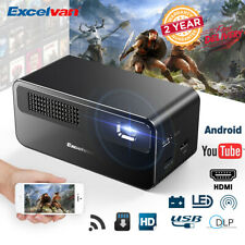 Excelvan HDP300 DLP Projector 7000Lumens High Performance Home Theater Projector