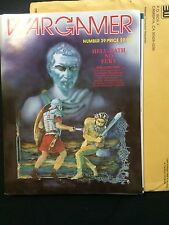 1985 The Wargamer #38 Hell Hath no Fury UNPUNCHED Complete + Envelope COVER TYPO