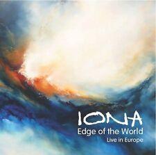 Edge Of The World:live In Europe - Iona (2014, CD NIEUW)2 DISC SET