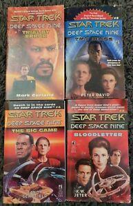 STAR TREK DEEP SPACE NINE TITLES PAPERBACK 4 BOOK LOT NOVELS BOOKS FREE SHIPPING