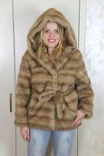 New Mink Jacket Pelliccia Visone Nerz Pelz Fur Pelzmantel Fox Fuchs Saga Sable