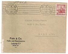 DEUTCHLAND ALLEMAGNE COVER LEIPZIG 1938 TO KEHL. L397