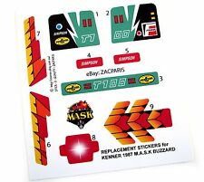 MASK stickers for KENNER M.A.S.K BUZZARD Personalized + BONUS