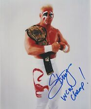 Sting Signed & Inscribed WCW Champion 8x10 Photo WWE