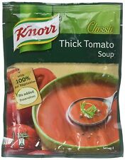 Knorr Classic Tomato Soup, 53g real tomatos extra yummy taste free shipping