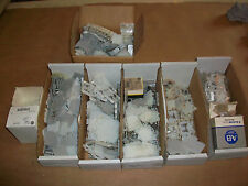 14lbs of Allen Bradley Terminal Blocks & End Barriers  Assorted types