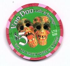 New listing rio voo doo cafe 5.00 chip