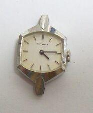 Vintage WITTNAUER Ladies Silvertone Watch - no band