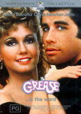 Grease DVD TOP 1000 MOVIES MUSICAL John Travolta Olivia Newton-John BRAND NEW R4
